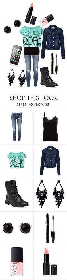 """School"" by karleewhitesell ❤ liked on Polyvore featuring Lipsy, Vero Moda, Wet Seal, Oasis, Adele Marie, Mary Kay and NARS Cosmetics"
