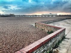 View of Brighton Palace Pier from Madeira Drive on the seafront