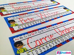 Superhero classroom theme - Lots of ideas and resources for doing a super hero theme in your classroom