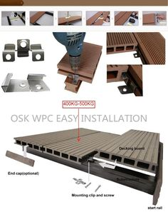 High Quality Engineered Wpc Composite Decking,Hollow Waterproof Wpc Decking,Wooden Laminated Flooring - Buy Outdoor Laminate Wood Flooring,Wpc Deck,Composite Floor Steel Decking Product on Alibaba.com