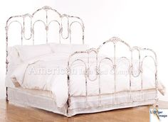 Vintage Antiques Metal Beds Frames | ... - American Iron Bed Company - Authentic Antique Cast Iron Bed Frames