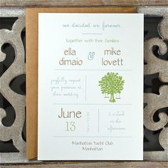 Invitations . Wedding Invitations . by SweetBellaStationery, $2.50
