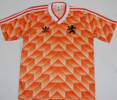 Netherlands/Holland 1988 Home Retro Football Soccer Shirt Jersey Vintage Classic New Football Shirts, Classic Football Shirts, Vintage Football Shirts, Football Tops, Football Uniforms, Adidas Football, Retro Shirts, Soccer Shirts, Football Jerseys