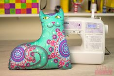 Tutorial Vila do Artesão - Gato Alfredo do kit de almofadas criativas