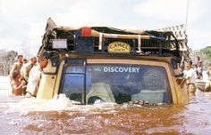 The Camel Trophy Land Rovers