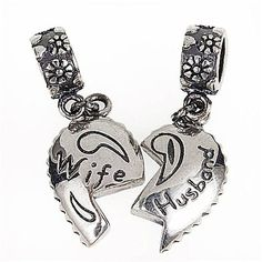 Lover Couple Husband Wife Anniversary Love Charm Bead Fits Pandora Charms >>> Insider's special review you can't miss. Read more