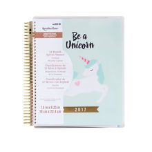 Creative Year 2017 Unicorn Spiral Planner By Recollections™.  FINALLY someone made a unicorn.