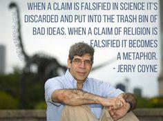 Metaphor. Jerry Coyne  More:   #atheist #atheism
