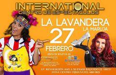 Esta semana La Lavandera y la Maruja en Tijuana.  info en http://tjev.mx/1UtNCmh #Comedia más info en http://tjev.mx/9jUxqh