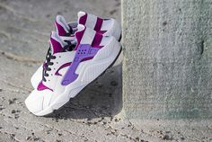 Nike WMNS Air Huarache Bright Magenta & Purple