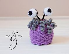 Boo crochet hat - I think I like this one the best so far