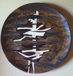 Ideogram-diam.cm45-biscotto realizzato a mano-Marilù Viviano,  2016