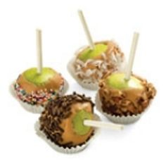 Mini caramel apples #recipe #fall