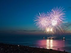 Fireworks on the Beach - Planning out next year's summer vacation and looks like we'll be celebrating July 4th on the beach this time! This will be a 1st and I can't wait!!!!