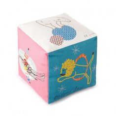 MIMI`lou Cotton cube with bell - circus `One size Age : From birth onwards * Details : Cotton * Composition : 100% Cotton * 12 x 12 x 12 cm. * Machine washable, 30°C max http://www.MightGet.com/january-2017-13/mimilou-cotton-cube-with-bell--circus-one-size.asp