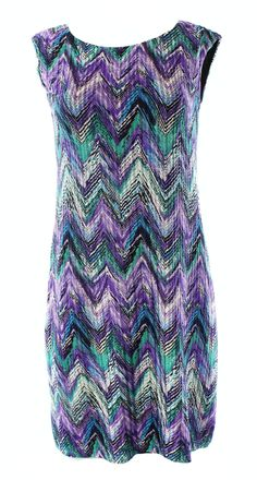 Connected Apparel NEW Purple Women's Size 10 Textured Knit Sheath Dress $69