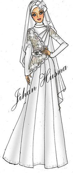 27 Best Abaya Sketch Images Hijab Fashion Batik Dress Muslim Fashion