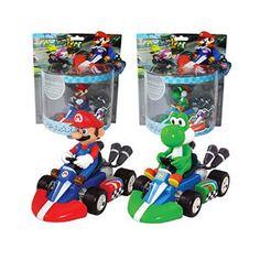 Mario Kart Pull-Back Racers