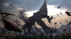 What if the Reapers came right now? image - Mass Effect Fan Group Mass Effect Reapers, Far Future, Right Now, Fighter Jets, Concept Art, War, Wallpaper, Anime, Artworks
