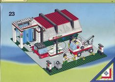 Town - OCTAN GAS STATION [Lego 6472]