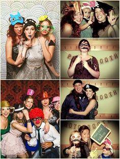 No dejes de incluir una cabina de fotos instantáneas en tu fiesta de casamiento, de esta manera los invitados se van a llevar un souvenir original al mismo tiempo que se divierten sacándose las fotos!