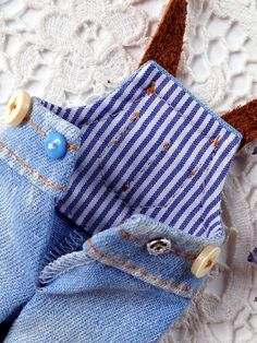 Denim trousers overall Blythe denim trousers overall