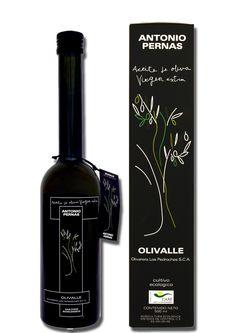Aceite de Oliva Virgen Extra Ecológico - Botella de diseño Antonio Pernas 500cc #LosPedroches #aceitedeoliva #ecológico