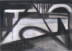 Studies  -  Glorieus Jean-Louis 2015  - Ink .