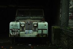 Land Rover. Built to withstand anything. And surprisingly trendy for something so utilitarian.
