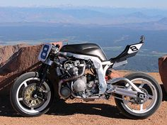 Guy Martin's turbo charged, Martek framed, GSX-R 1100 - prepared for 2014 Pike's Peak Hill Climb