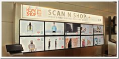 India now has its own virtual Shopping wall - Homeshop18, one of the popular online stores in India, today announced the launch of virtual shopping wall called 'Scan N Shop'.
