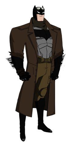 Knightmare Batman JLU Style by Alexbadass.deviantart.com on @DeviantArt