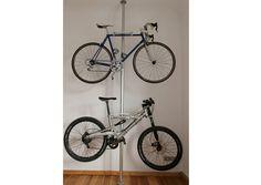 DIY Indoor Bike Rack