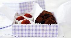 Geschenkideen aus der Küche: Anleitung Trüffelbox