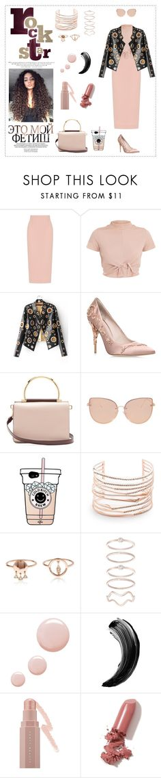 """""""Cool-Girl Style: Leather Jackets"""" by danielle-valentine-666 ❤ liked on Polyvore featuring Roland Mouret, Ralph & Russo, Salvatore Ferragamo, Topshop, Alexis Bittar, Mia Sarine, Puma, LAQA & Co., daria and leatherjackets"""