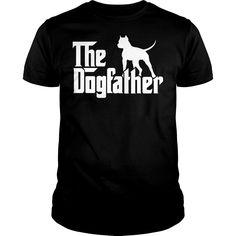 Dogfather Pitbull Shirt