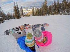 Go pro snowboard pictures