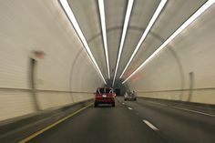 George C. Wallace Tunnel, Mobile Alabama. I've always taken pride in my ability to hold my breath all the way through it