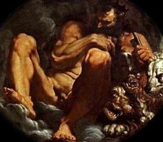 The realm of Hades is not just a dark place.  Hades by Agostino Carraci Museo Estense, Modena Italy
