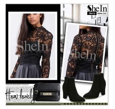 """Shein.com 1"" by aida-nurkovic ❤ liked on Polyvore featuring mode, Proenza Schouler et Sheinside"
