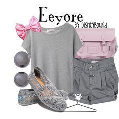 Eeyore, created by lalakay on Polyvore disney