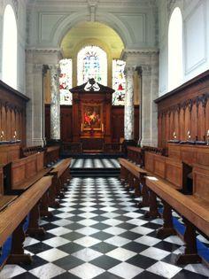 The Chapel, by Christopher Wren, at Pembroke College, Cambridge