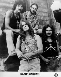 Black Sabbath Promo Printon