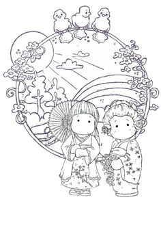 sympathy coloring pages - photo#22