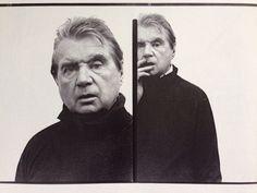 Photo of Francis Bacon, by Richard Avedon