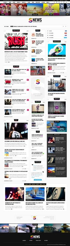 SNEWS is Eye-catching WordPress #Theme for Magazine, #Reviews & Newspaper #website. Download Now!