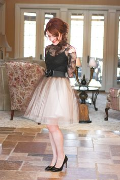 Delusions of Grandeur: DIY Tulle Skirt