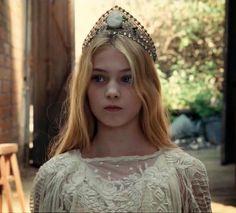 Eleanor Worthington Cox as Pre-teen Aurora in Maleficent