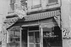 Runt's Pool Room North Carolina 1930s 4x6 Reprint Of Old Photo 2