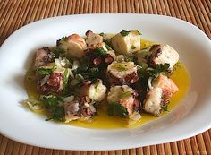 Octopus salad - Food From Portugal
